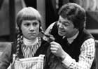 Susan Cuthbert as Anne, Jim White as Gilbert, in Anne Of Green Gables, The Charlottetown Festival